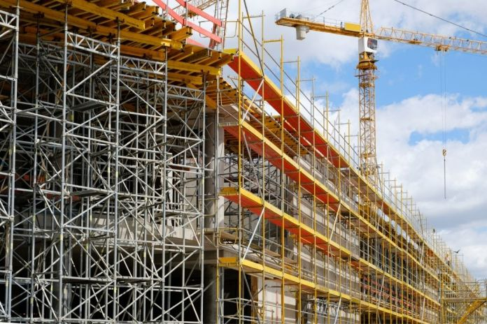 How to erect scaffolding