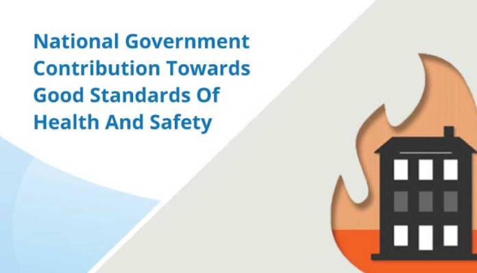 National Government Contribution Towards Good Standards Of Health And Safety