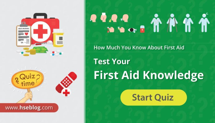 Test Your First Aid Knowledge First Aid Practice Test