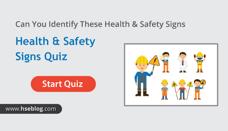 Can You Identify These Health & Safety Signs | MCQs Test