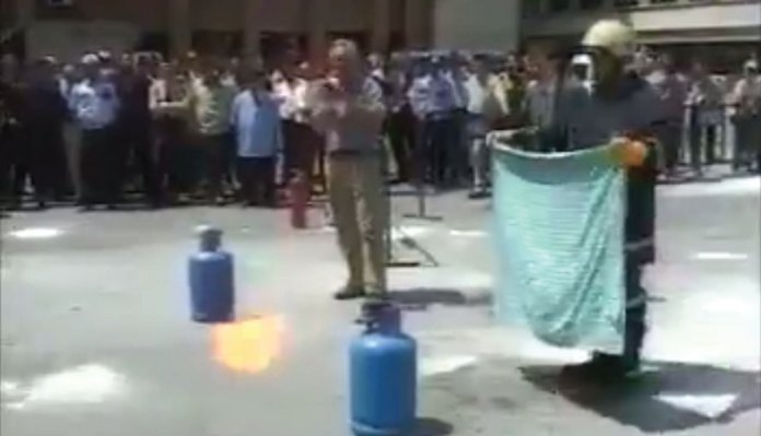 How to Control Cylinder Fire