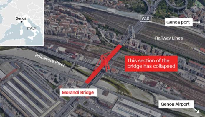 Italy Bridge Collapse, Killed At Least 39 People, And Has Left 16 Injured