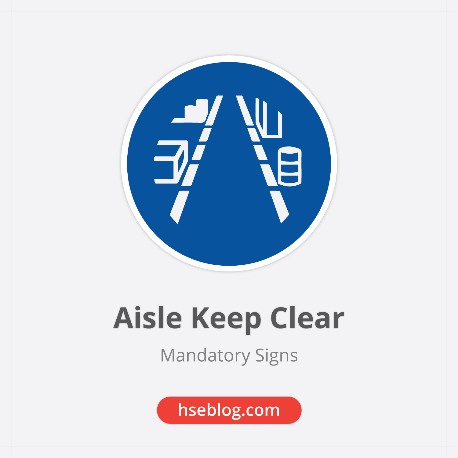 Aisle-Keep-Clear