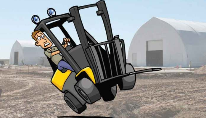 The Factors That May Cause A Forklift Truck To Overturn