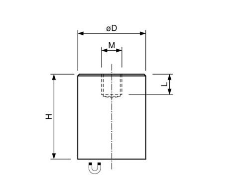AlNiCo-Deep-Pot-Bar-Magnet