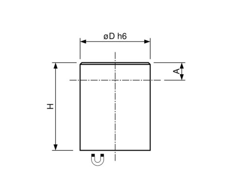 Bar-magnet-AlNiCo-steel-body-with-fitting-tolerance-h6