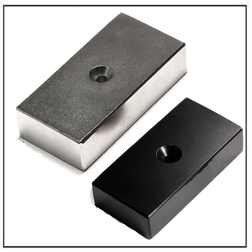 huge-neodymium-block-magnet-with-countersunk-hole-for-wind-turbine