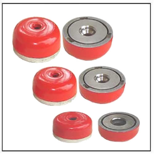 alnico-round-base-pot-magnets-with-bore-and-counter-bore