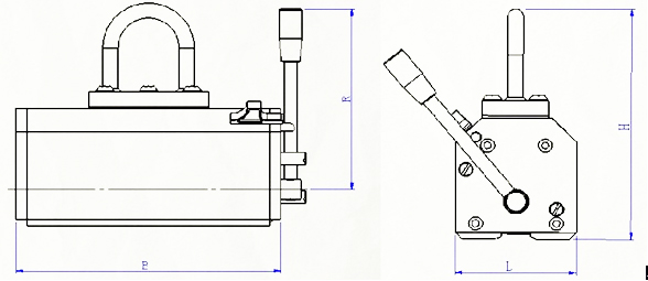 magnetic-lifter-i-series-drawing
