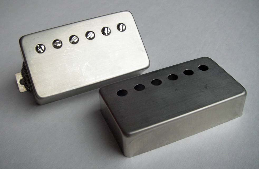 Authentic looking humbucker cover