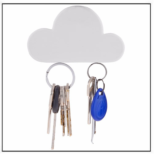 Creative Cloud Shape Magnetic Key Holder Hanger