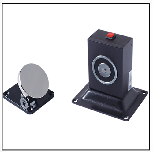 Wall u0026 Floor Mount Adjustable Type Electromagnetic Door Holder  sc 1 st  Magnets By HSMAG & Electromagnetic Door Holder Supplier - Magnets By HSMAG