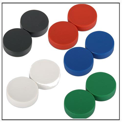 1″-dia-x-1-4″-thick-plastic-coated-neodymium-magnet-disc-N42