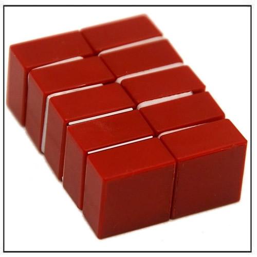 1-2″-x-1-2″-x-1-4″-red-plastic-coated-block-neodymium-magnet