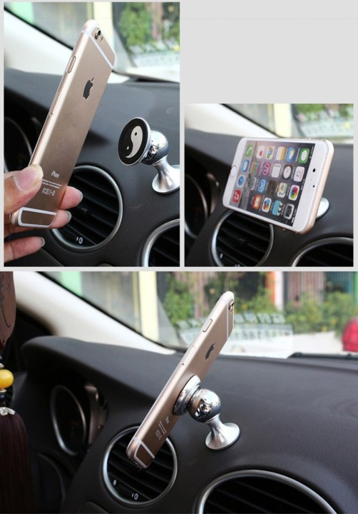 Magnetic Car Mobile Phone Holder For All Smart Phones