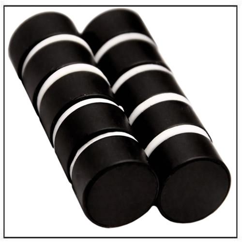 Plastic Coated Black Neodymium Disc Magnet