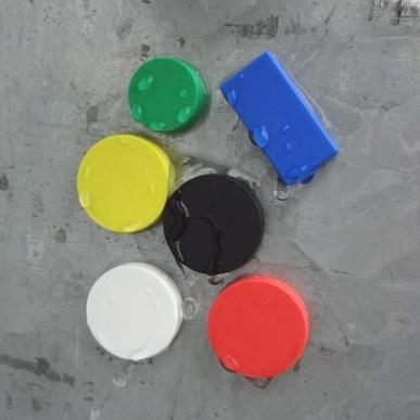 weatherproof durable plastic magnets