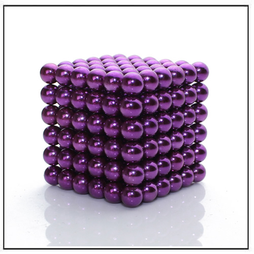 216 Super Strong Magnetic Balls Nanodots Purple