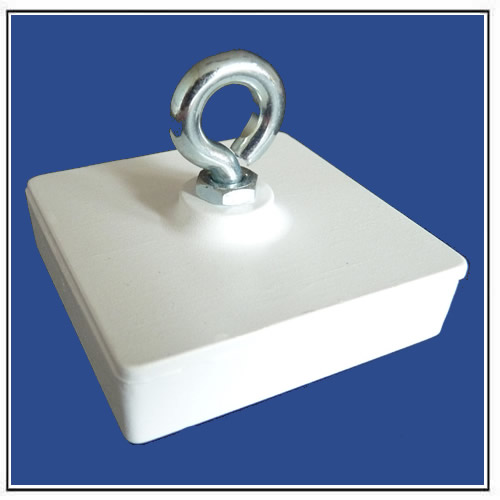 Ceiling Magnets Square with Suspension Eye