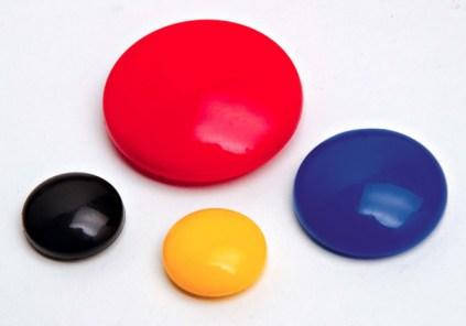 Color Whiteboard Round Ferrite Plastic Magnet