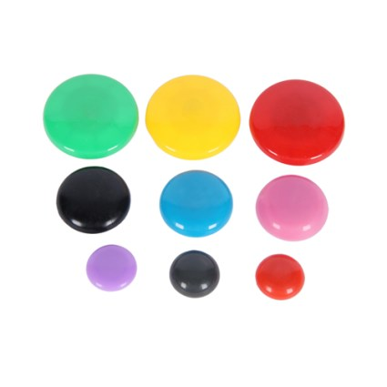Colorful-Cute-Round-Coated-Magnetic-Button-1