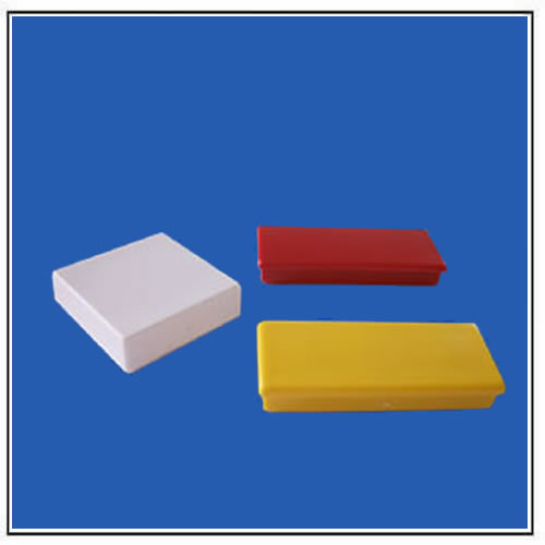 Colorful Plastic Coated Rectangular Ferrite Anisotropic Magnets