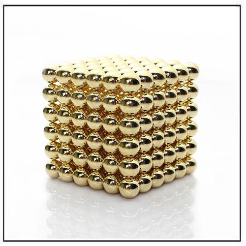 Golden BuckyBalls 216 Super Strong Magnetic Balls