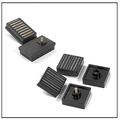 Magnetic Fixing Plates with M6 Screw or Nut