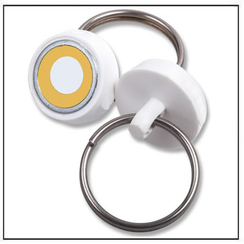 Round ClikMagnets – Yellow