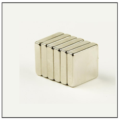 Block Rare Earth Sintered Neodymium Magnets 10 x 10 x 2 mm