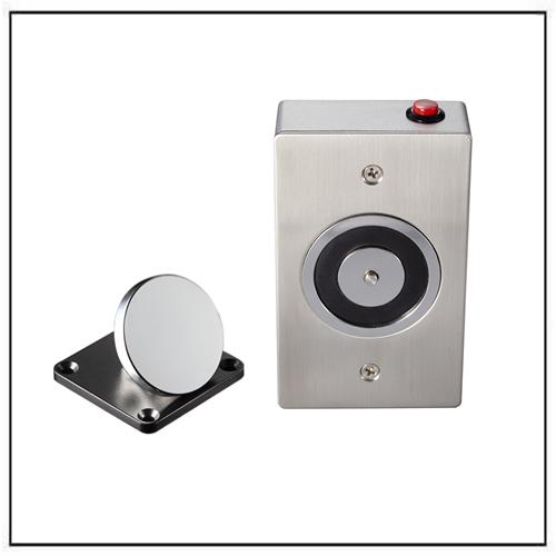 mortise mounted smokeproof magnetic door holder
