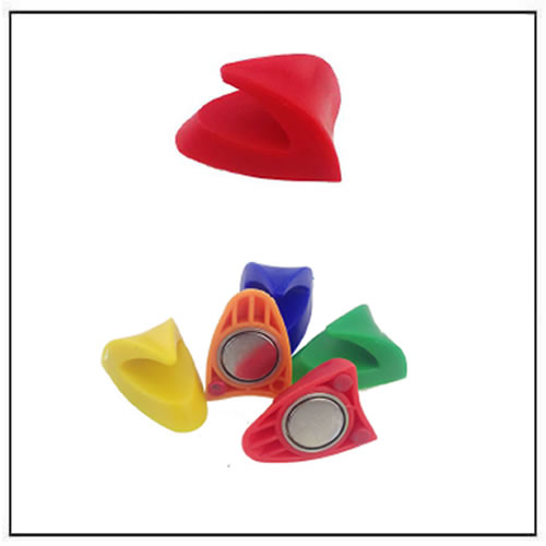 Colorful Plastic Magnetic Hooks