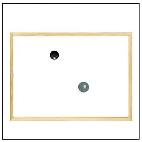 Wood Frame Magnetic Dry Erase Board