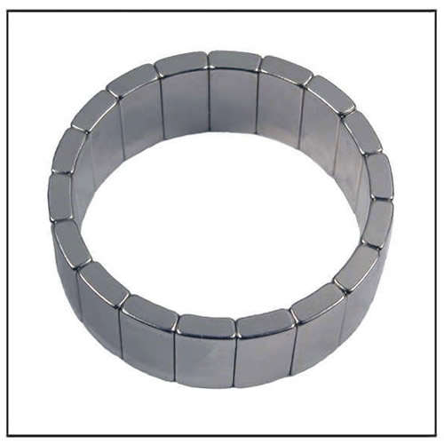 ndfeb segment magnet