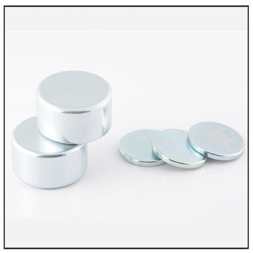 Neodymium Disc Magnet With Zn Plating