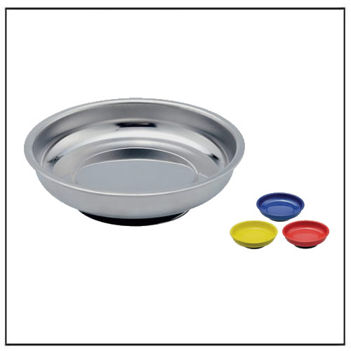 Circular Stainless Steel Magnetic Tray