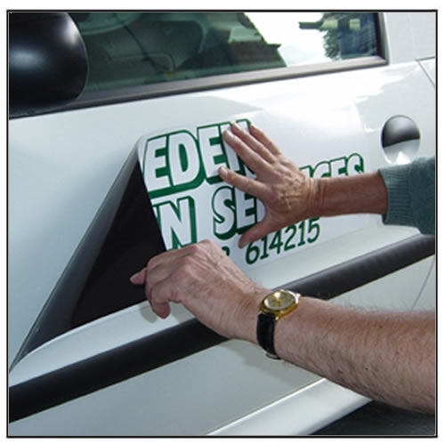 Custom Design Magnetic Vehicle Signs