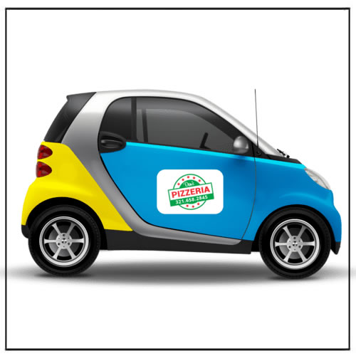 Personalized Car Vehicle Advertising Magnets
