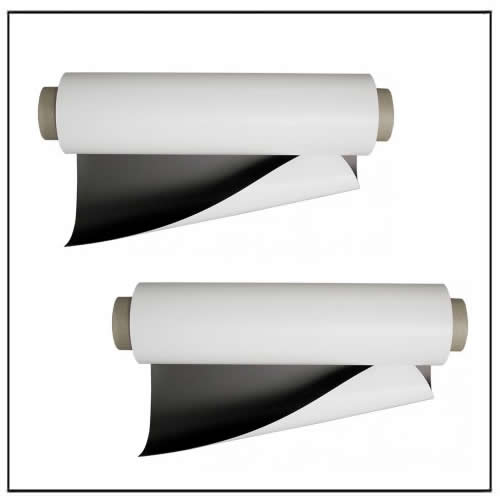 Vinyl Coated Magnetic Rolls