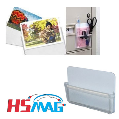 Magnetic Photo Pockets and Capacity Pouches