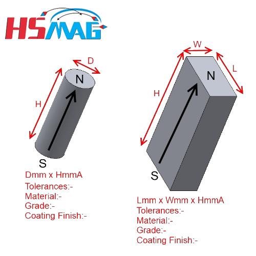 HSMAG Custom Magnets