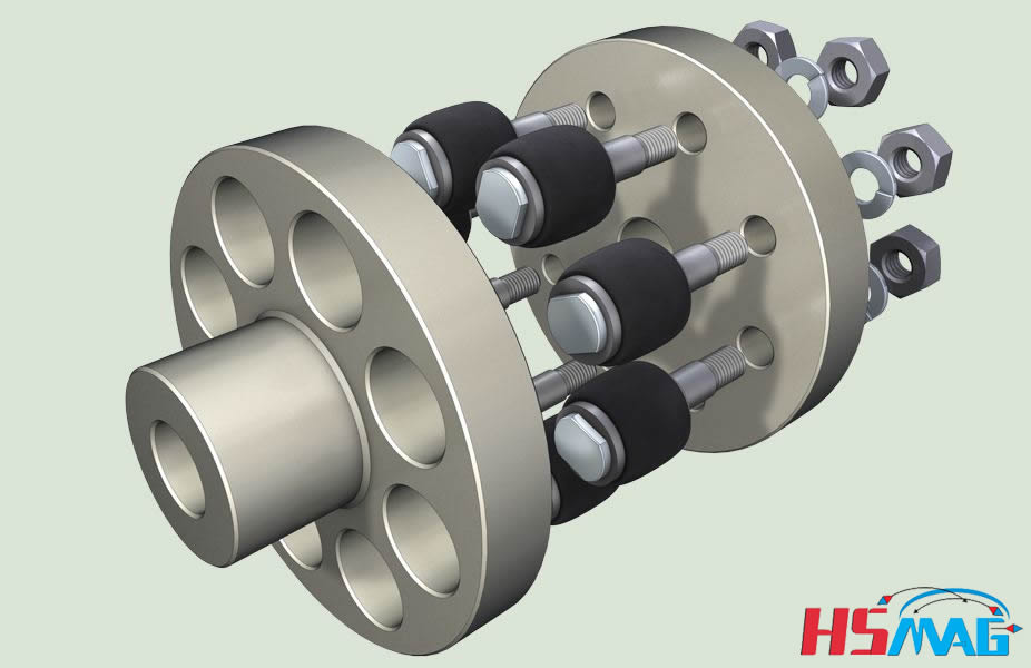 Motor shaft coupling magnetic clutch magnets by hsmag for Motor and pump coupling