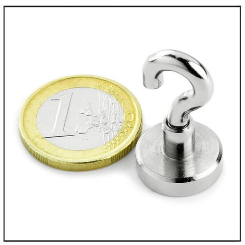 Sintered Neodymium Hook Magnets 8KG