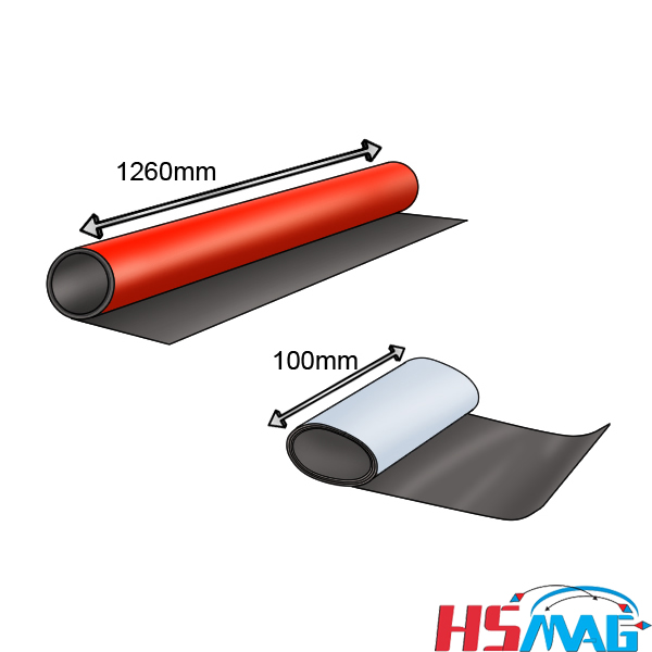 flexible magnetic sheet sizes