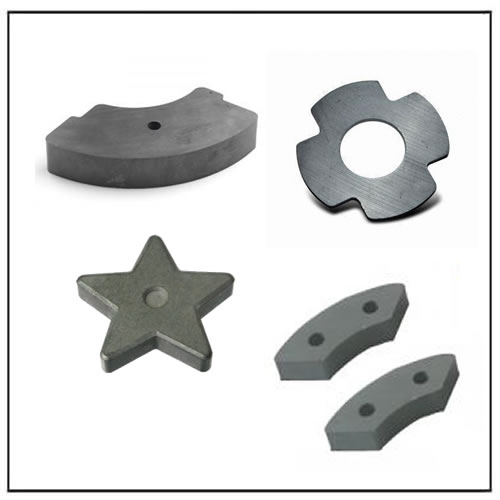 Irregular Shape Ceramic Magnets
