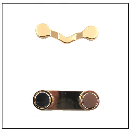 Gold Magnetic Eyewear Sunglasses Holder