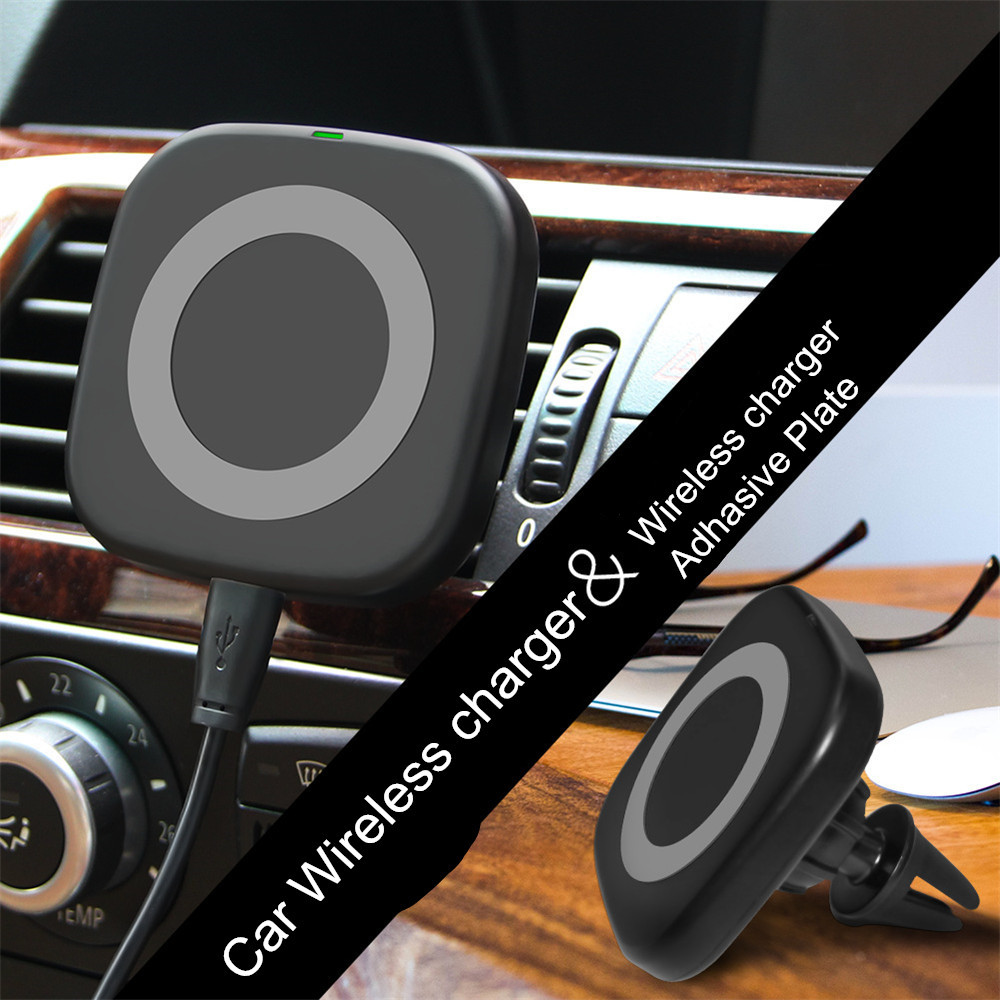 Magnetic Car Holder Qi Wireless Charger