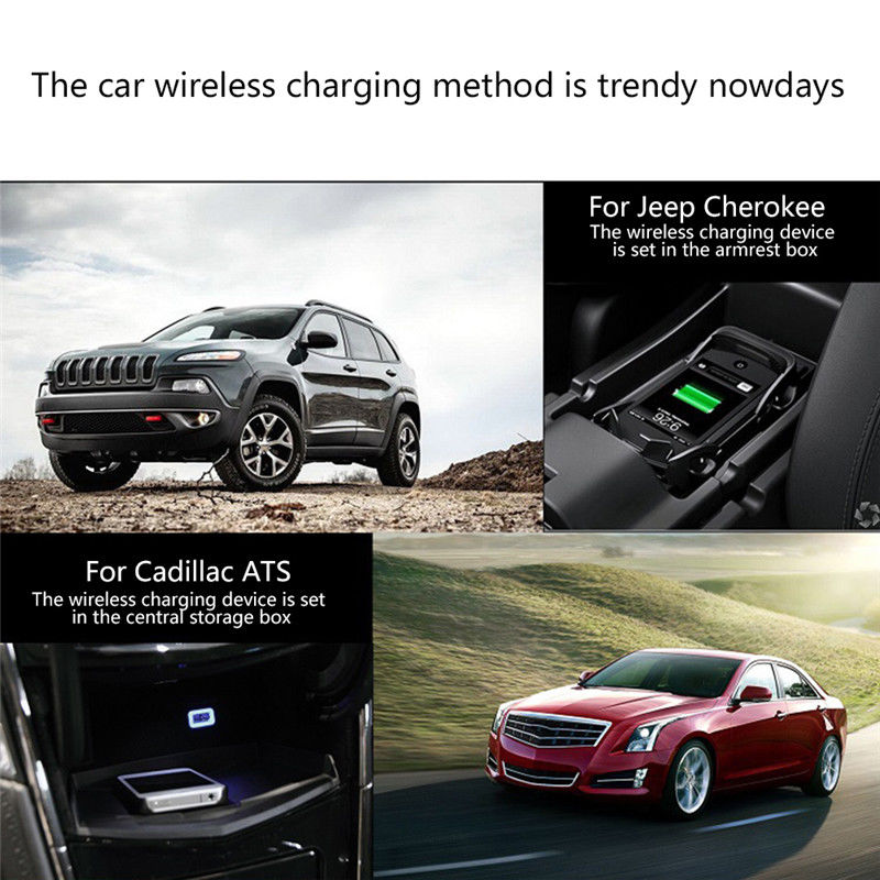 car magnetic wireless charger phone mount holder