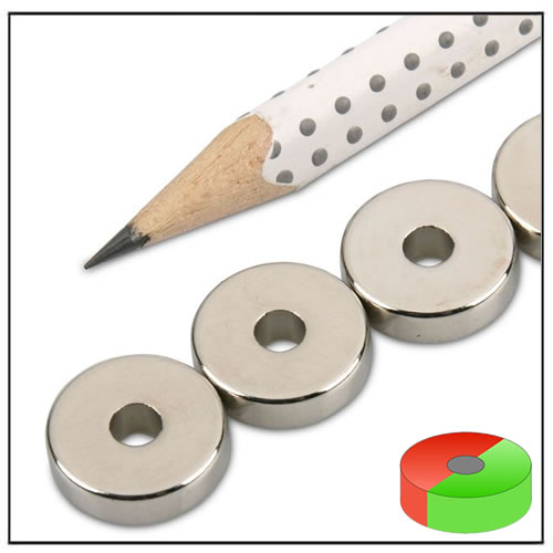 Neodymium Permanent Ring Magnet