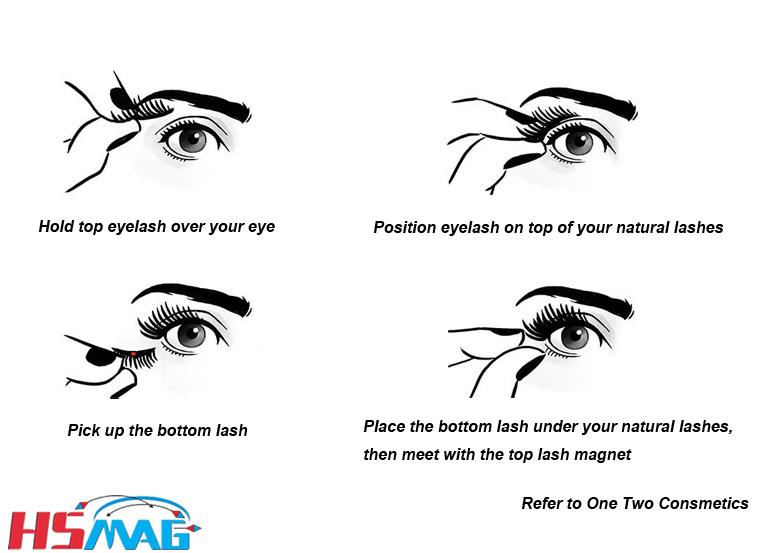 magnetic eyelashes magnet
